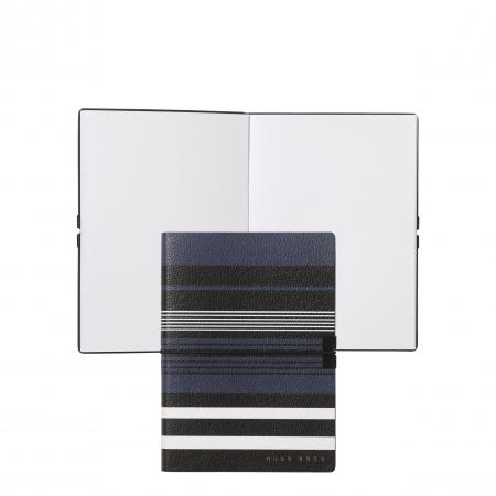 Hugo Boss Storyline Stripes Blue A6 Note Pad