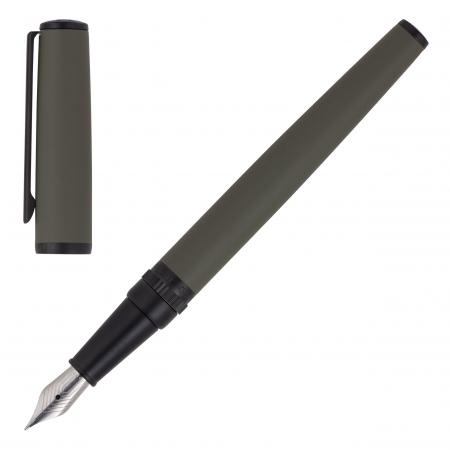 Hugo Boss Gear Khaki Fountain Pen