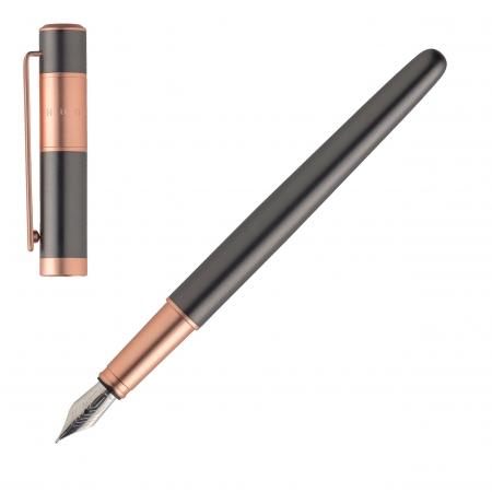 Hugo Boss Ribbon Matte Gun Fountain Pen