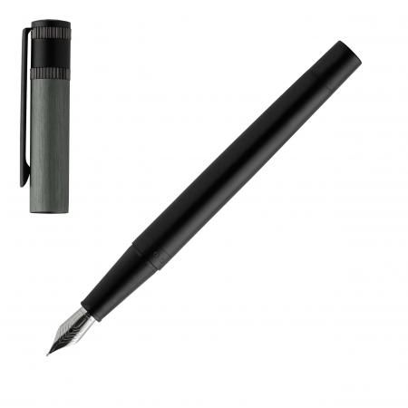 Hugo Boss Explore Brushed Grey Fountain Pen