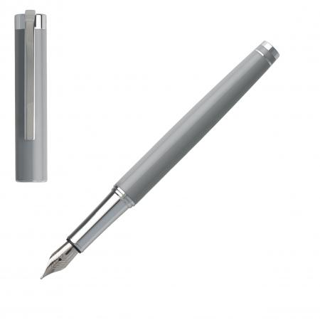 Hugo Boss Ace Light Grey Fountain Pen