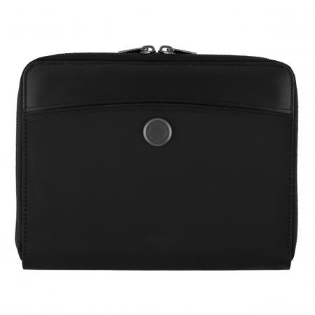 Hugo Boss Contour Black Folder Zip A5