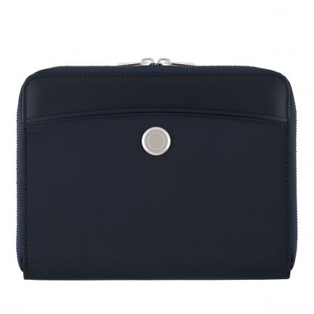 Hugo Boss Contour Navy Folder Zip A5