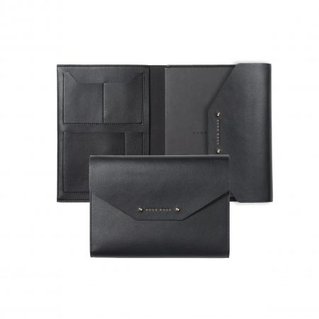 Hugo Boss Elegance Black A5 Folder