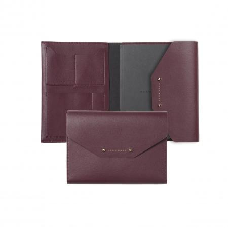 Hugo Boss Elegance Burgundy A5 Folder