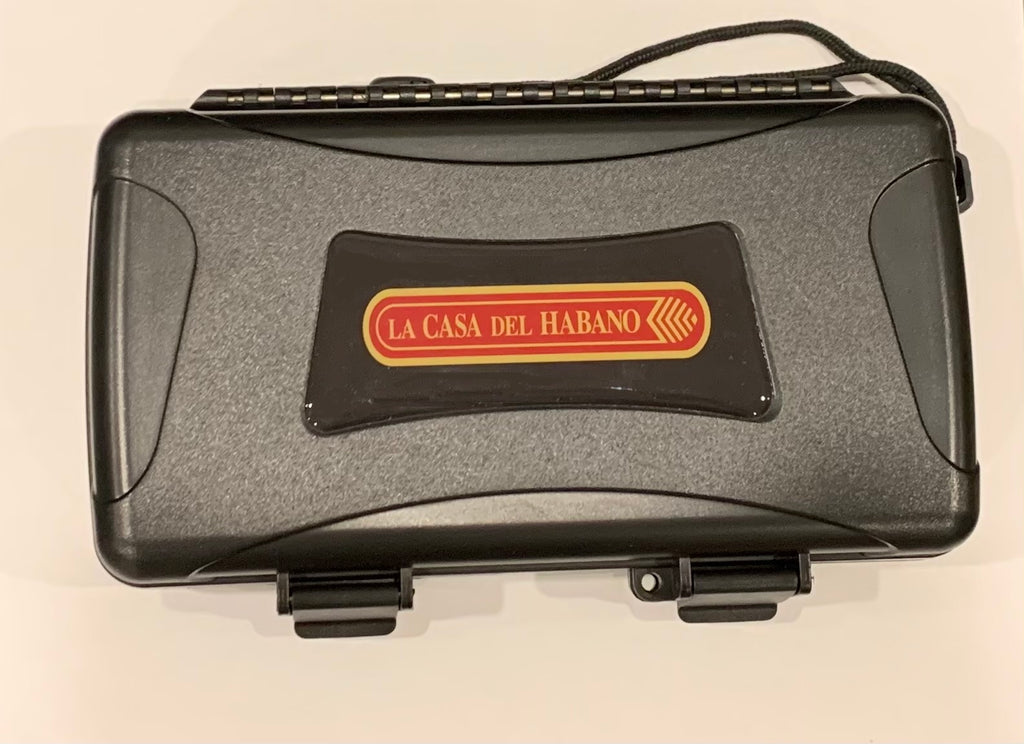 Cigar Caddy 5 Count Black Travel Humidor La Casa del Habano-HG6.00030