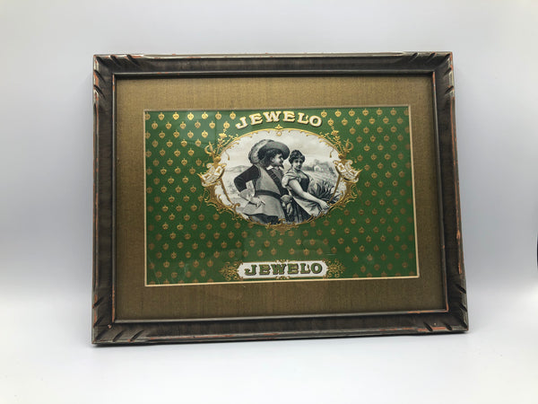 Jewelo Cigar Brand Framed Art