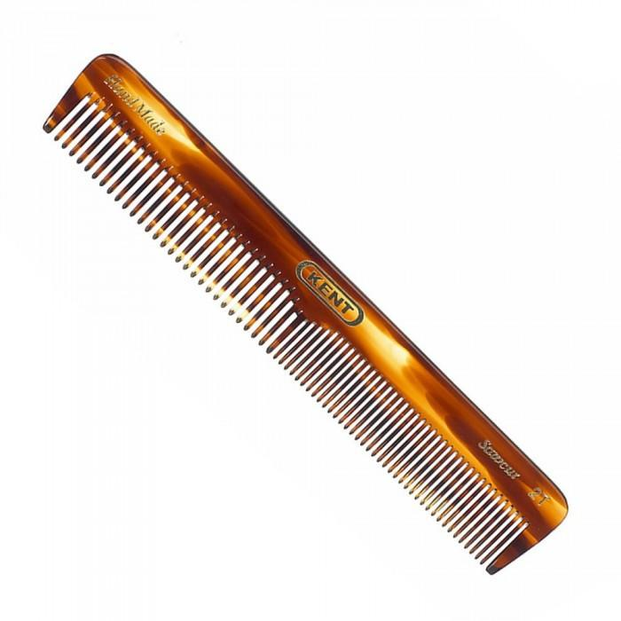 Kent K-5T Comb, Dressing Table Comb, Coarse/Fine (169mm/6.7in)