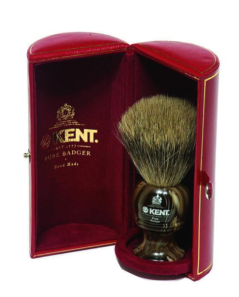 Kent Horn Shaving Brush, Best Badger, Large