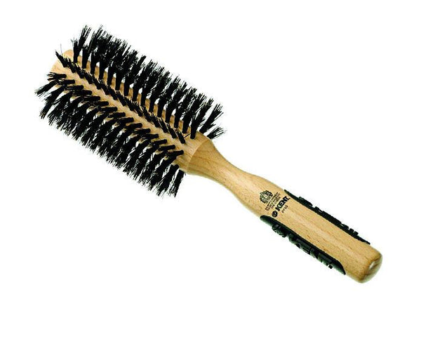 Kent Natural Shine Brush, Large Radial, Pure Bristle
