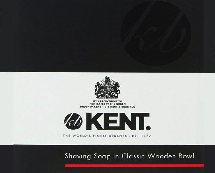 Kent Shaving Soap In Light Beechwood Shaving Bowl