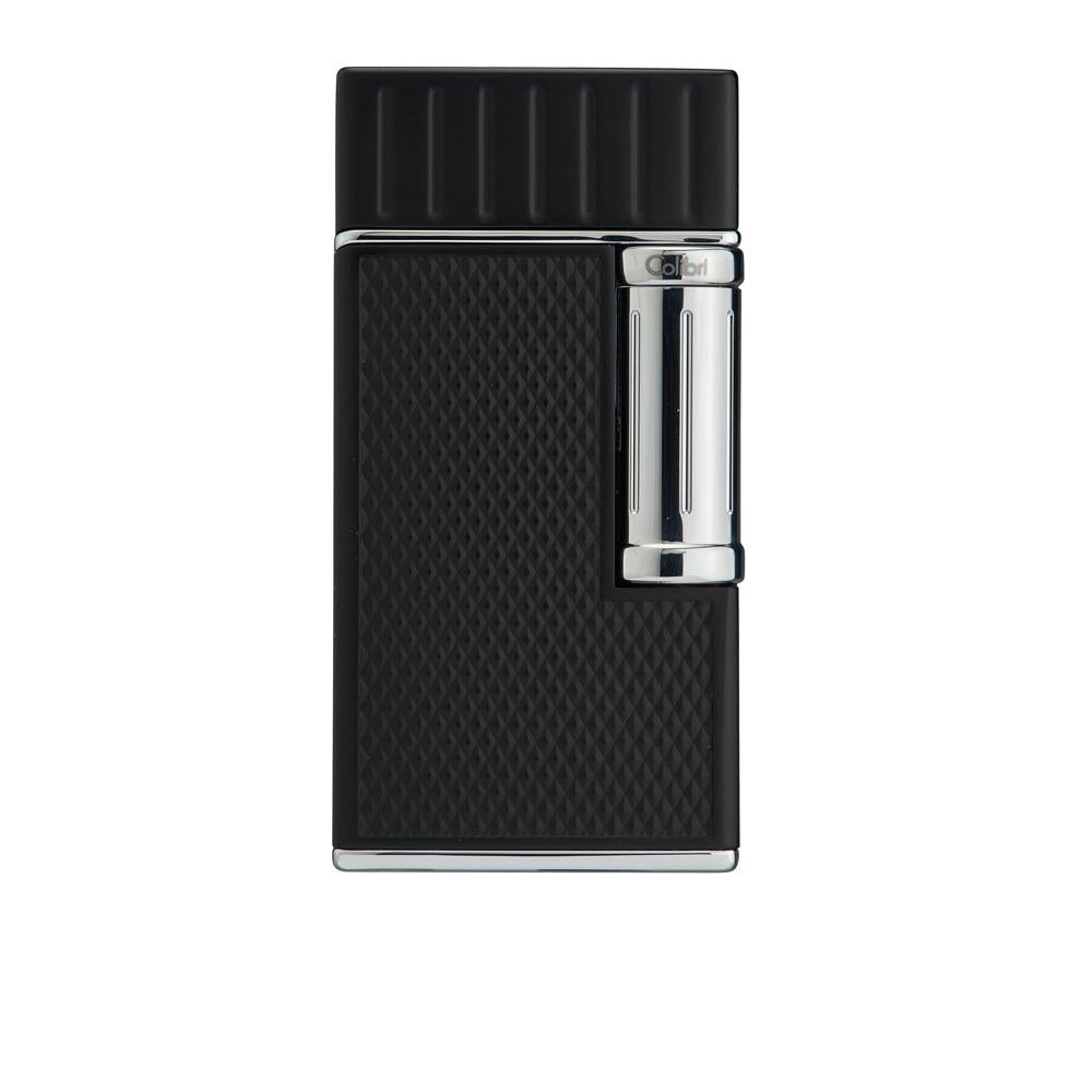Colibri Julius Black and Chrome Lighter