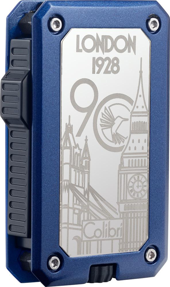 Colibri 90 Year Anniversary Rally Gunmetal and Blue Lighter