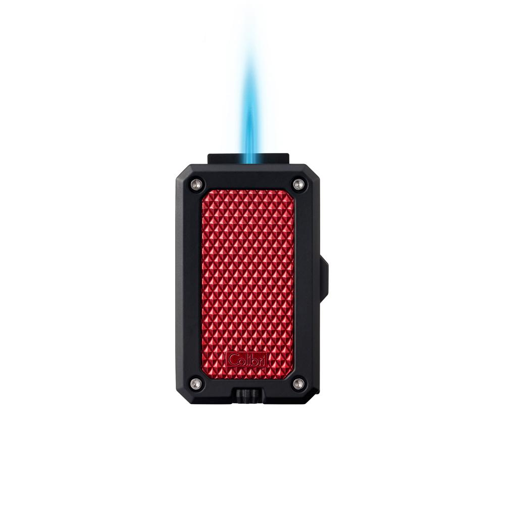 Colibri Rally Black and Red Torch Lighter LI360T4