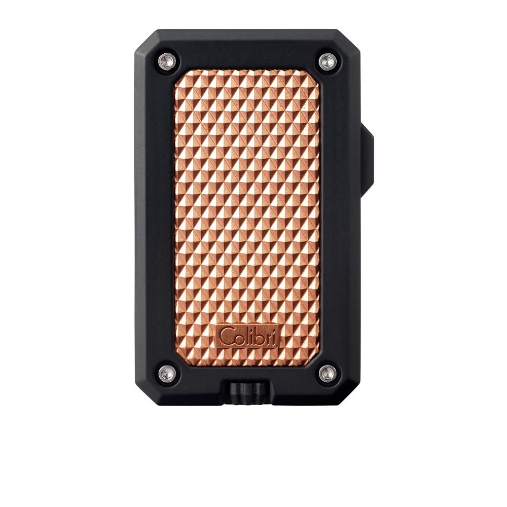 Colibri Rally Black and Rose Gold Torch Lighter