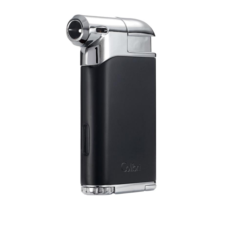 Colibri Pacific Air Pipe Lighter Black and Chrome