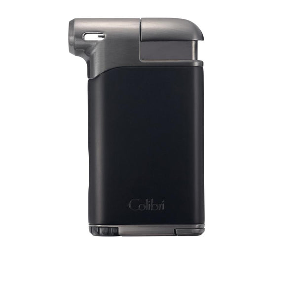 Colibri Pacific Air Pipe Lighter Black and Gunmetal