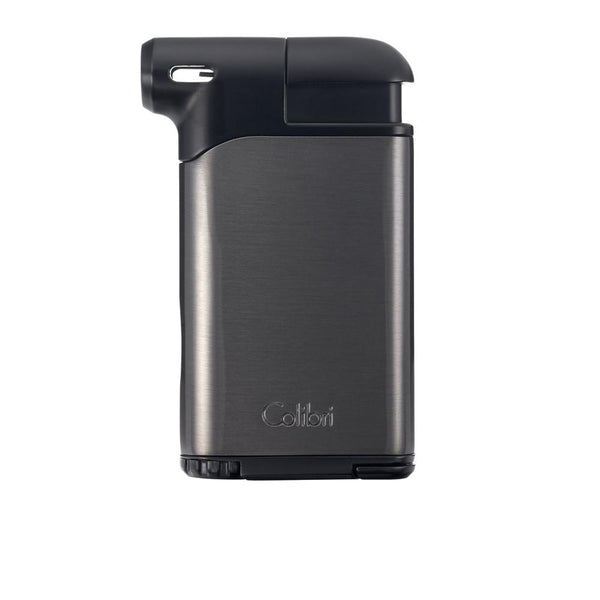 Colibri Pacific Air Pipe Lighter Gunmetal and Black