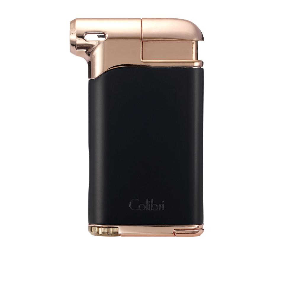 Colibri Pacific Air Pipe Lighter Black and Rose Gold