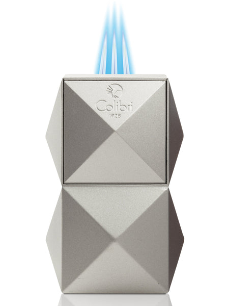 Colibri Quasar Table Lighter Silver