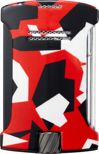 Colibri Daytona Came Red Torch Lighter