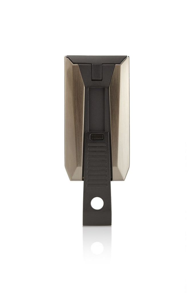 Colibri Slide Gunmetal and Matte Black Torch Lighter and Punch