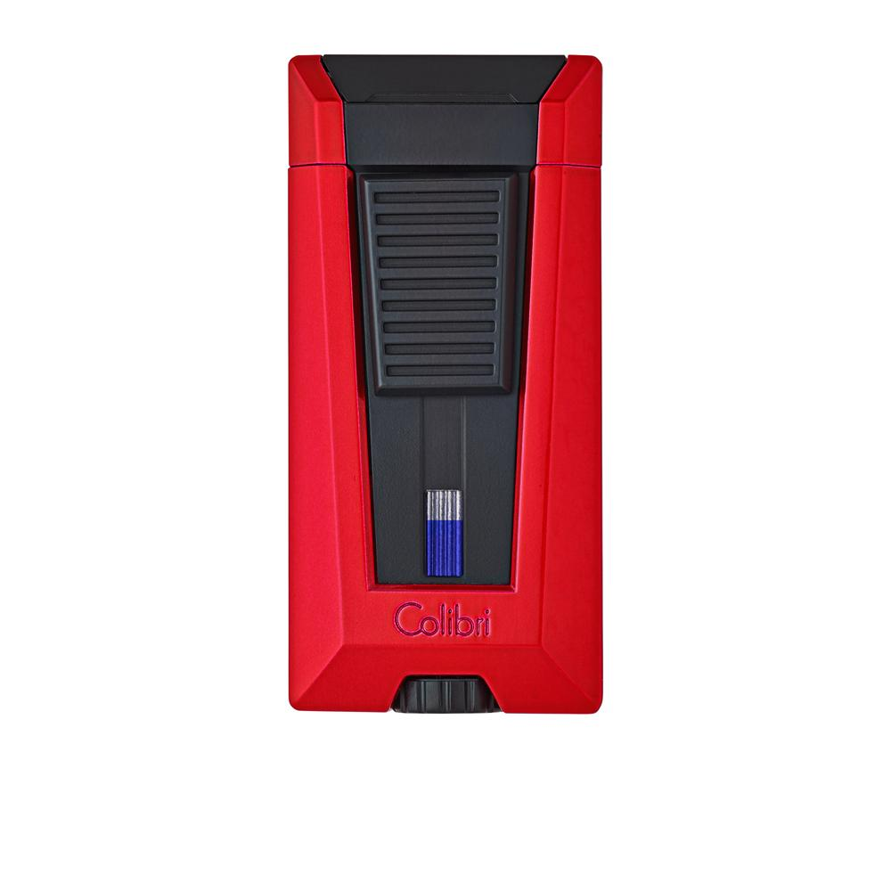 Colibri Stealth 3 Flame Metallic Red Lighter