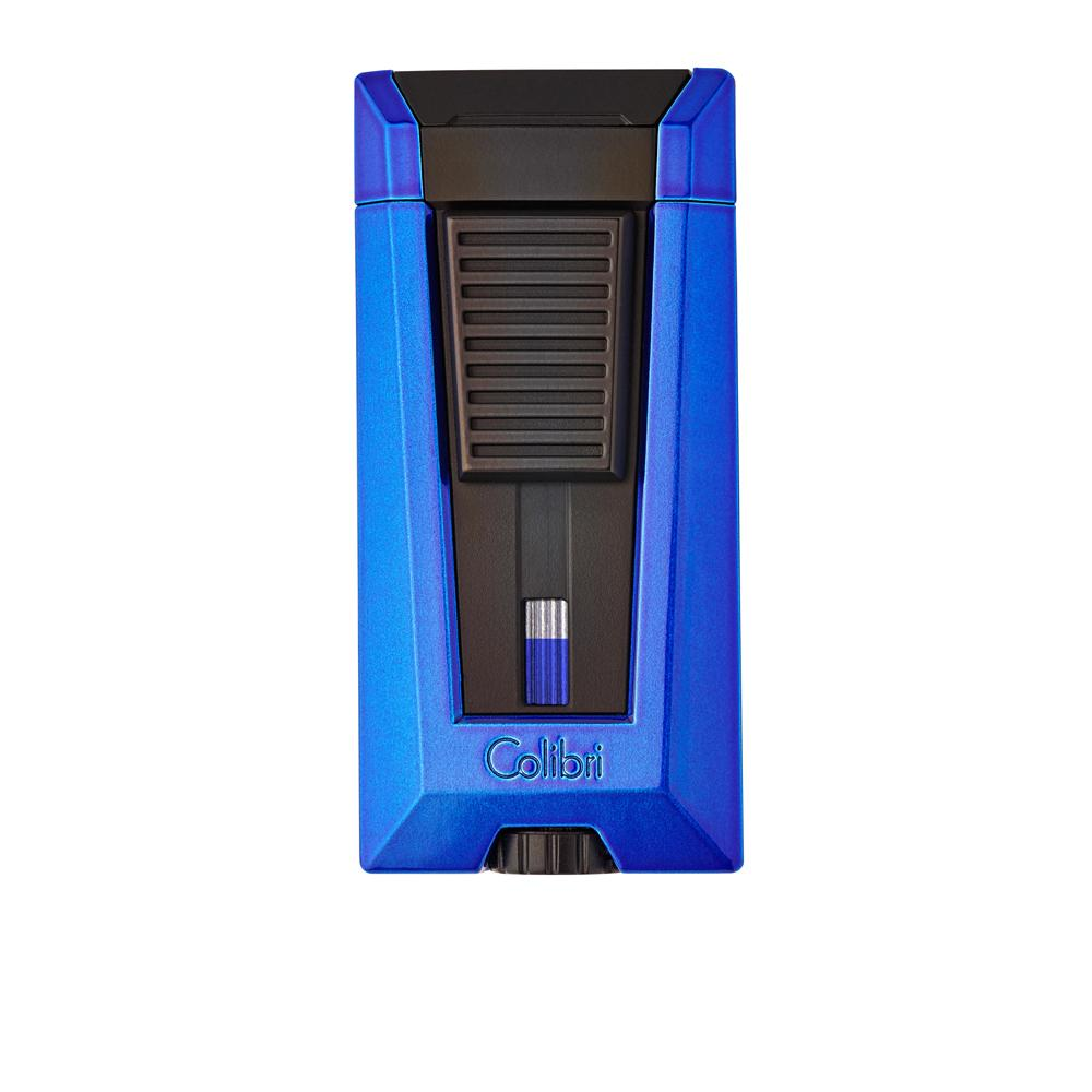 Colibri Stealth 3 Flame Metallic Blue Lighter