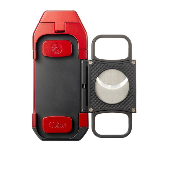Colibri Boss Red and Black Triple Flame Torch Lighter and Cutter