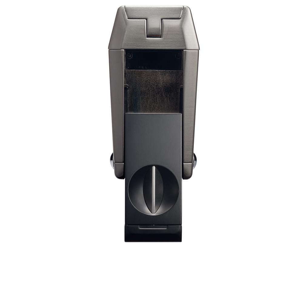 Colibri Quantum Gunmetal and Black Triple Flame Torch Lighter and V-Cut
