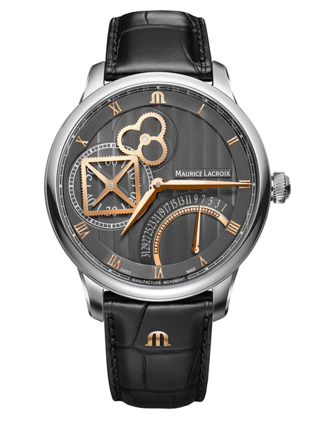 MAURICE LACROIX MASTERPIECE SQUARE WHEEL RETROGRADE 43 mm MP6058-SS001-310-1