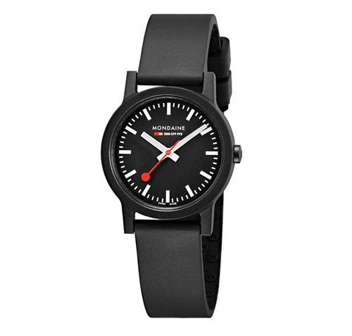 MONDAINE essence, 32mm, vegan sustainable watch, MS1.32120.RB