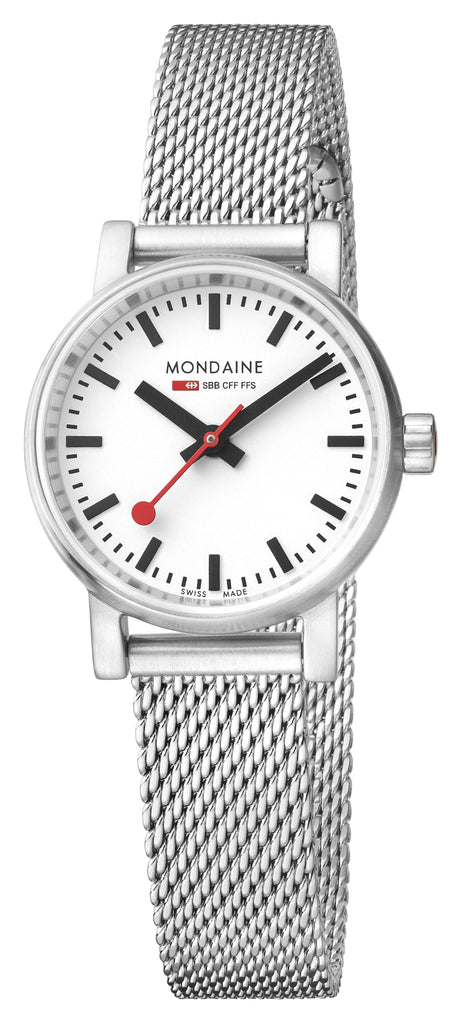 MONDAINE evo2, 26mm, stainless steel watch for women, MSE.26110.SM