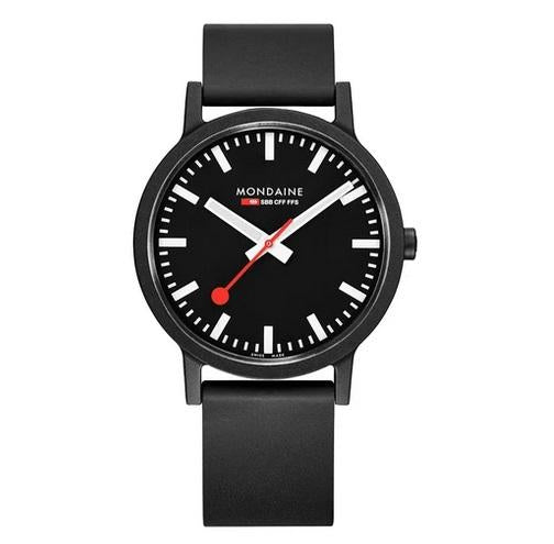 MONDAINE essence, 41mm, vegan sustainable watch, MS1.41120.RB