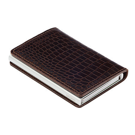 SECRID - Slimwallet brown amazone