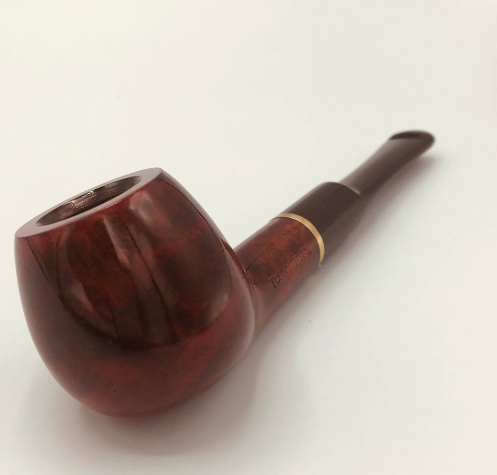 Smooth Filter Walnut Finish Pipe - Straight