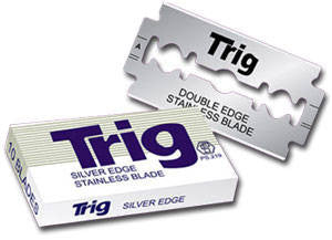 TRIG Safety Razor Blades