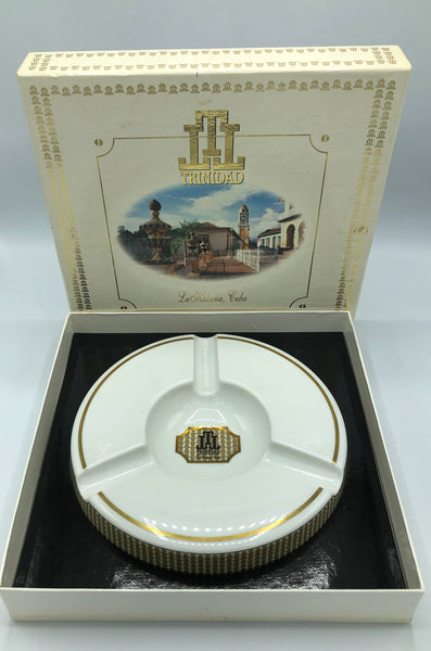 TRINIDAD Bidasoa 24K Gold Limited Edition Ashtray