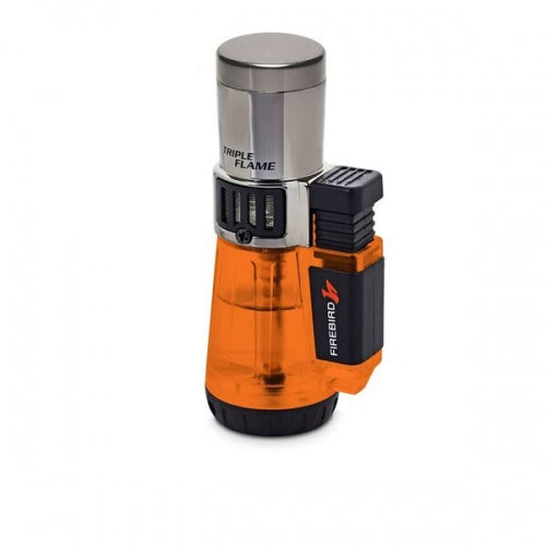 Firebird Afterburner Triple Flame Torch Lighter Orange