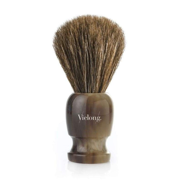 Vie-Long Vintage Comte Horse Hair Shaving Brush Brown Wood Handle