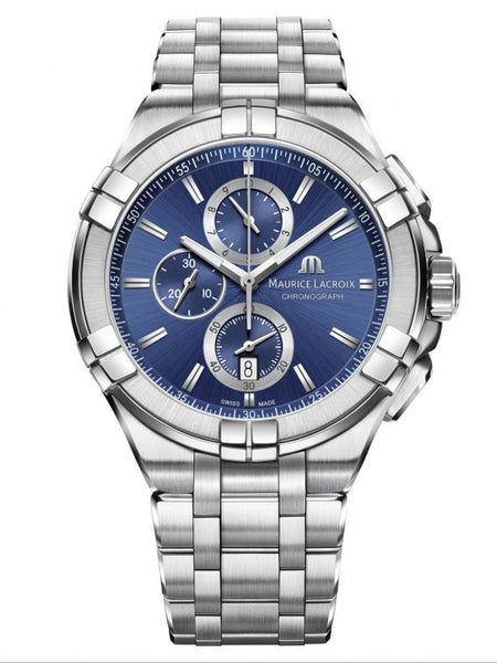 MAURICE LACROIX  AIKON Chronograph 44mm AI1018-SS002-430-1