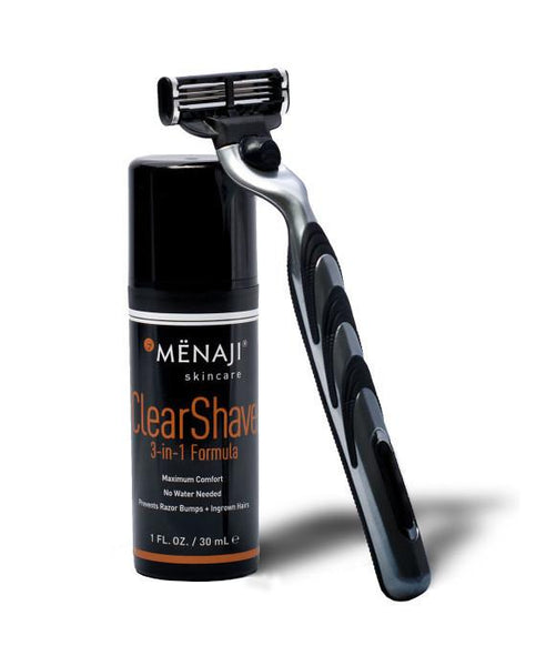 Menaji ClearShave 3-in-1 Formula