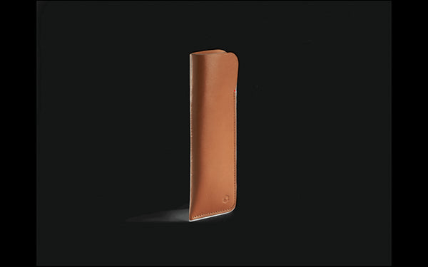 Caran D'ache BEIGE LEATHER CASE FOR 2 PEN