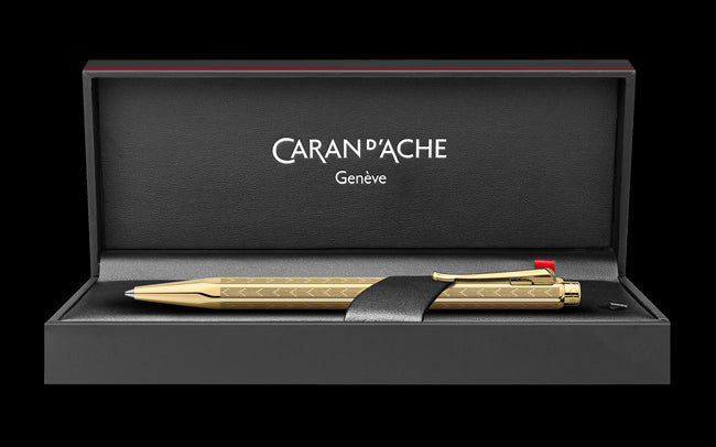 Caran D'ache Gilded ECRIDOR CHEVRON Fountain Pen