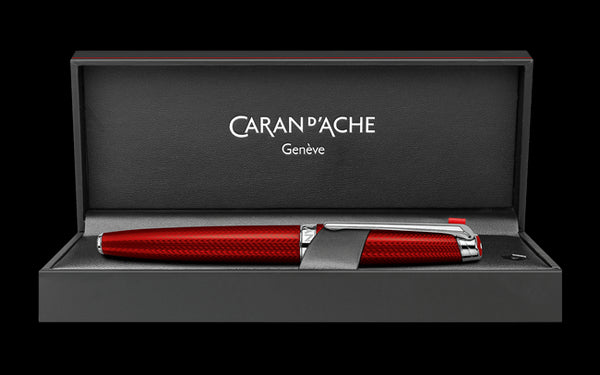 Caran D'ache Rouge Carmin LÉMAN Fountain Pen
