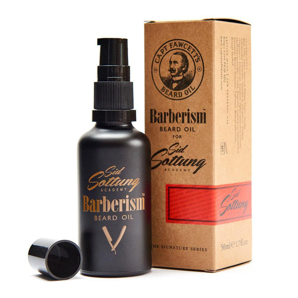 Captain Fawcett's Barberism Beard Oil, (50ml/1.7oz)