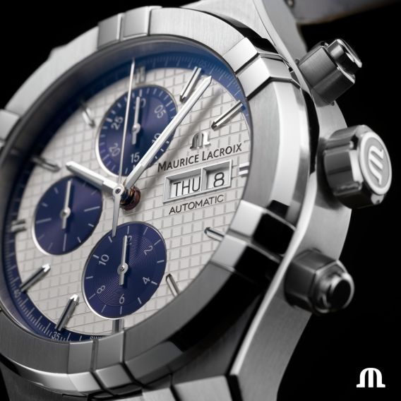 MAURICE LACROIX AIKON Automatic Chronograph 44mm AI6038-SS001-131-1