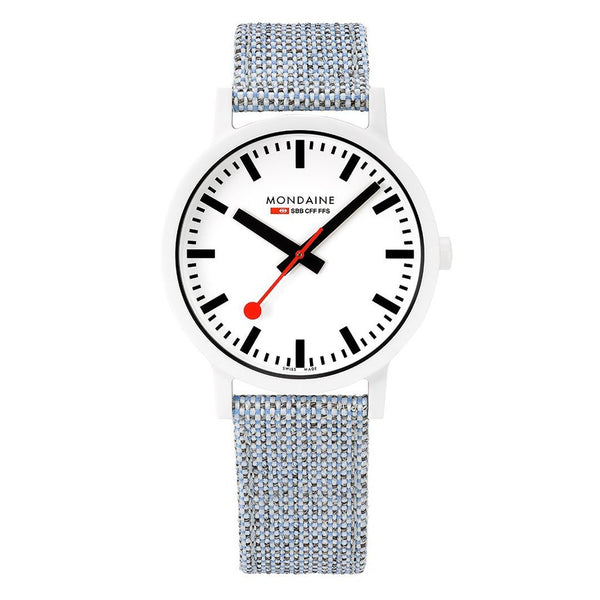 Mondaine Essence 41mm Sustainable Watch MS1.41110.LD