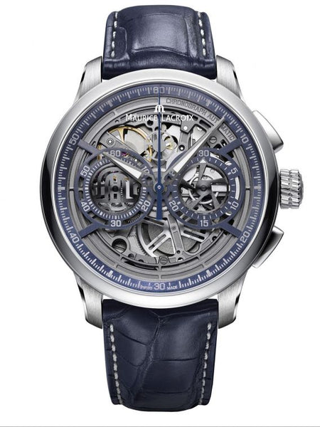 MAURICE LACROIX MASTERPIECE Automatic Chronograph Skeleton 45mm MP6028-SS001-001-1