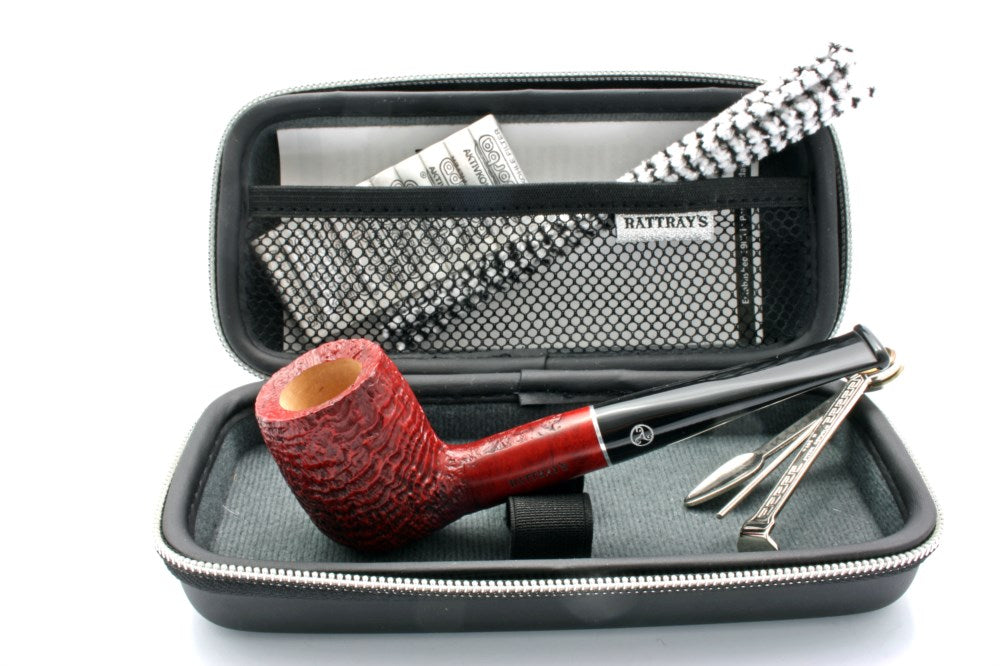 Rattray Joy Pipe Sandblast 113 - Pipe Starter Set